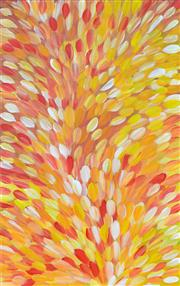 Sale 8344 - Lot 541 - Gloria Petyarre (c1945 - ) - Bush Medicine Leaves 152 x 95cm