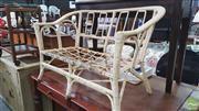 Sale 8390 - Lot 1510 - Cane 2 Seater Lounge