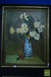 Sale 8530 - Lot 2007 - A. Tickner - Still Life 60 x 45cm