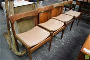 Sale 8550 - Lot 1049 - Set of Four G-Plan Dining Chairs