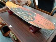Sale 8684 - Lot 1047 - Retro Skateboard