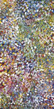 Sale 8738 - Lot 530 - Polly Ngale (c1936 - ) - Bush Plum 200 x 100cm