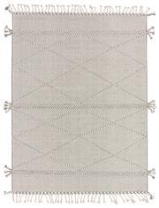 Sale 8725C - Lot 96 - An Indian Mradu Hand-knotted Wool Carpet, Grey, 160x30cm, RRP $800