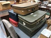 Sale 8822 - Lot 1556 - Collection of Vintage Suitcases