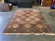 Sale 9051 - Lot 1070 - Red Tone Floor Rug (344 x 250cm)
