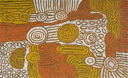 Sale 9128A - Lot 5067 - Marlene Young Nungurrayi (1973 - ) - My Country 95 x 155 cm (stretched and ready to hang)