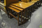 Sale 8287 - Lot 1040 - G-Plan Teak Nest of Tables
