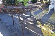 Sale 8390 - Lot 1351 - Metal Coffee Table