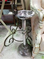 Sale 8580 - Lot 1007 - Chrome Smokers Stand
