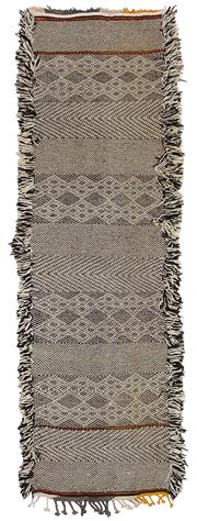 Sale 8725C - Lot 97 - A Moroccan Zanafi Runner, Hand-knotted Wool, 220x60cm, RRP $1,800
