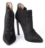 Sale 8910F - Lot 24 - A pair of Tony Bianco pony hair boots size 7