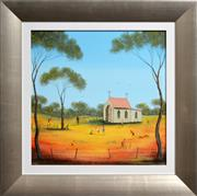 Sale 8309A - Lot 47 - Kym Hart (1965 - ) - Sunday School Playtime 40 x 40cm