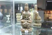 Sale 8308 - Lot 55 - Bronze Buddha Figure