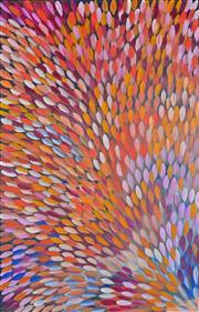 Sale 8344 - Lot 560 - Gloria Petyarre (c1945 - ) - Bush Medicine Leaves 201 x 129cm