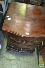 Sale 8390 - Lot 1486 - Timber 2 Drawer Bedside