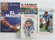 Sale 8418S - Lot 55 - BOOKS ON CANTERBURY PLAYERS. (4 books) Terry Lamb Story, Top Dog Steve Mortimer, A Family Betrayal Jarrod McCracken, EL Magic Hazem...