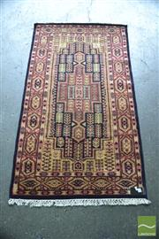 Sale 8447 - Lot 1006 - Kashmiri Hand Knotted Silk Rug (159 x 90cm)