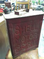 Sale 8643 - Lot 1089 - Vintage Shell Motor Oil Can