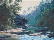 Sale 8838 - Lot 503 - John Downton (1939 - ) - Bomaderry Creek 1988 45 x 60.5cm