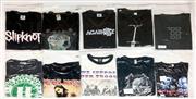 Sale 8926M - Lot 30 - Band T-Shirts incl. RATM, SOAD, NIN & Slipknot (10)