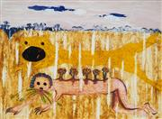 Sale 9001 - Lot 551 - Arthur Boyd (1920 - 1999) - Nebuchadnezzar 62.5 x 85 cm (frame: 100 x 131 x 4 cm)