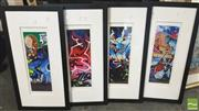 Sale 8413T - Lot 2048 - Set of 4 Framed Graffiti Photos