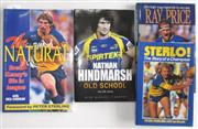 Sale 8418S - Lot 56 - BOOKS ON PARRAMATTA PLAYERS. (4 books) Sterlo The Story of a Champion, Ray Price Perpetual Motion, Nathan Hindmarsh, The Natural Bre...