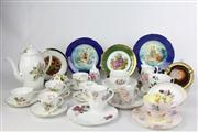 Sale 8466 - Lot 7 - Adderley Tea Service with Other Ceramics incl Shelley Plate