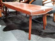 Sale 8684 - Lot 1054 - Australian Ply Coffee Table on Splayed Legs