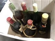 Sale 8789 - Lot 2325 - Assortment of Old Alcohol Bottles (6)