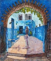 Sale 8938A - Lot 5059 - Stanley Perl (1942 - ) - Moroccan Dream 61 x 51 cm (total: 61 x 51 x 4 cm)
