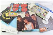 Sale 8940 - Lot 60 - Box Of LP Records incl Lou Reed And Iggy Pop
