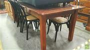 Sale 8390 - Lot 1541 - Large Timber Dining Table