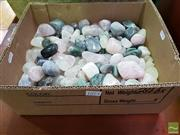 Sale 8465 - Lot 1073 - Box of Polished Mixed Semi-Precious Stones