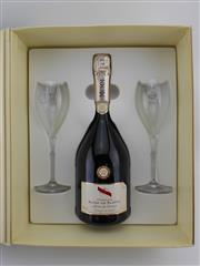 Sale 8479 - Lot 1859 - 1x NV GH Mumm Mumm de Cramant Blanc de Blancs Brut, Champagne - in gift box with two flutes & etched metal tray