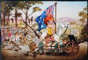 Sale 8883A - Lot 5040 - Bill Leak (1956 - 2017) - Pauline Hanson 26 x 38 cm