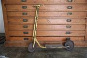 Sale 8825A - Lot 56 - Old timber scooter