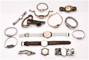 Sale 9078 - Lot 147 - A large collection of mens and ladies watches