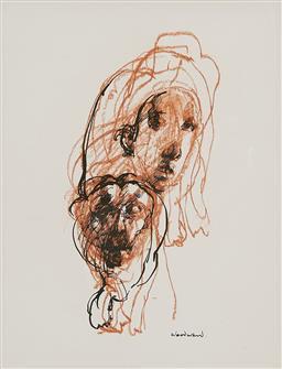 Sale 9212A - Lot 5006 - MARGARET WOODWARD (1938 - ) - Metamorphosis - Proteus Again 27 x 21.5 cm (frame: 54 x 48 x 3 cm)