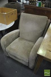 Sale 8390 - Lot 1185 - Natuzzi Reclining Armchair - Made in Italy