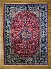 Sale 8559C - Lot 52 - Vintage Persian Kashan 306cm x 225cm