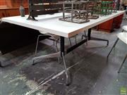 Sale 8625 - Lot 1060 - Herman Miller Dining Table (H: 73 L: 200 W: 100cm) -
