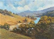 Sale 8847A - Lot 5088 - David Byard (1943 - ) - The Valley 49.5 x 70cm