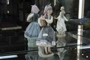 Sale 8288 - Lot 9 - Lladro Figure Budding Blossoms by Francisco Catalá