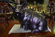 Sale 8390 - Lot 1334 - Large Composite Pig