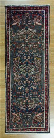 Sale 8657C - Lot 26 - Persian Hamadan Runner 300cm x  105cm