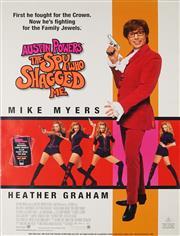 Sale 8822A - Lot 5131 - Austin Powers, the Spy Who Shagged Me - 99.5 x 70