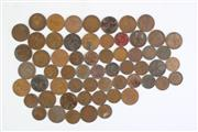 Sale 8835C - Lot 95 - Small Collection of English Pennies and Half Pennies Together with Australian Half Pennies