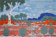 Sale 8938A - Lot 5028 - Dan Goodwin - Peterman Ranges, Alice Springs 97 x 162.5 cm