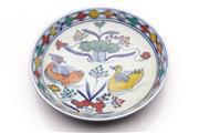 Sale 9060 - Lot 41 - A Doucai Chinese Ceramic Dish (Dia 17cm)